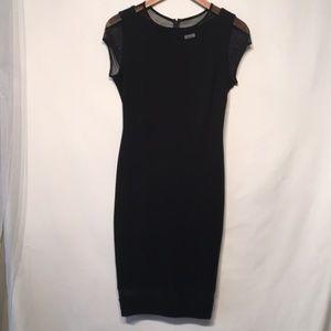 Cache Black Bodycon Dress Size 0 Like New